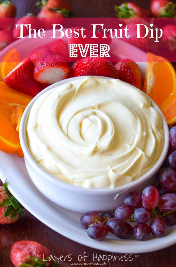 easy healthy fruit dip is passion fruit healthy