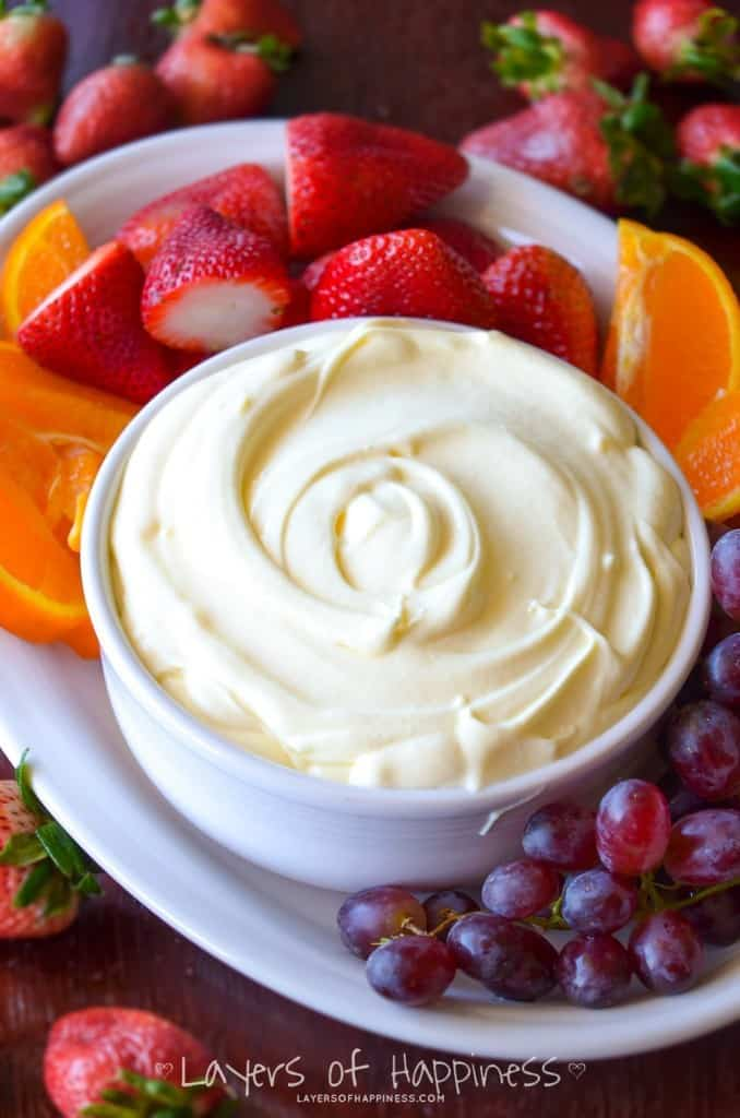 low sugar fruits healthy fruit dip