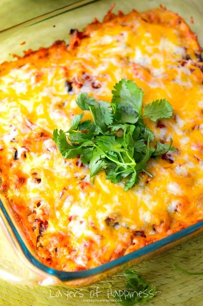 Potluck Chicken Fajita Casserole Recipes — Dishmaps