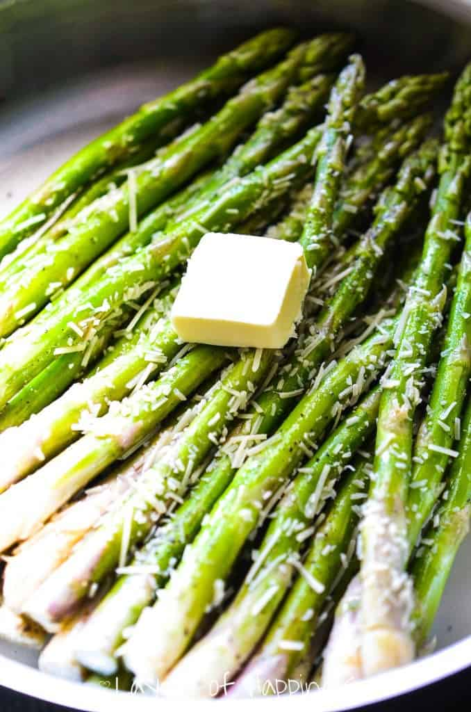 Asparagus, parmesan, and lemon just seem to be a triplet made in ...