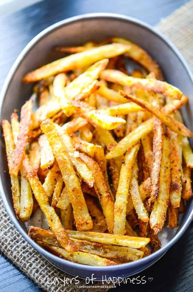 Extra Crispy Oven Baked French Fries. - Recipes for ...