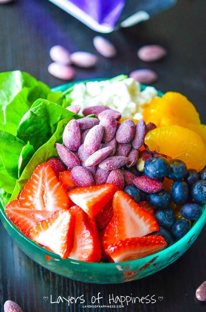 Fruit and Almond Summer Salad
