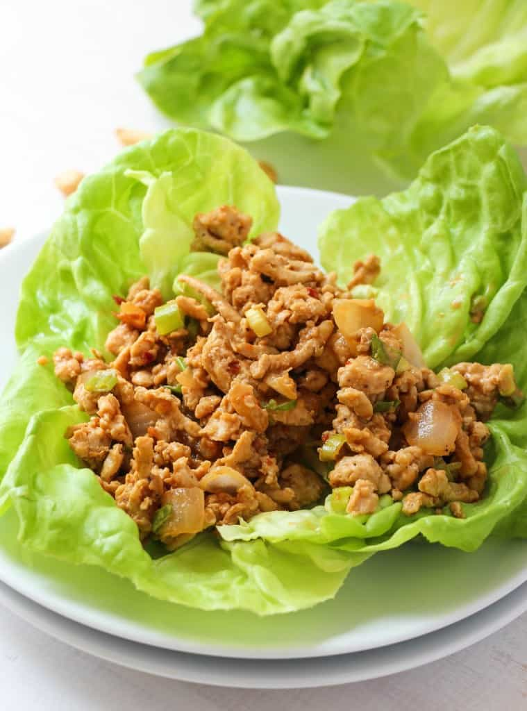 Copycat P.F. Chang's Chicken Lettuce Wraps. - Layers of Happiness