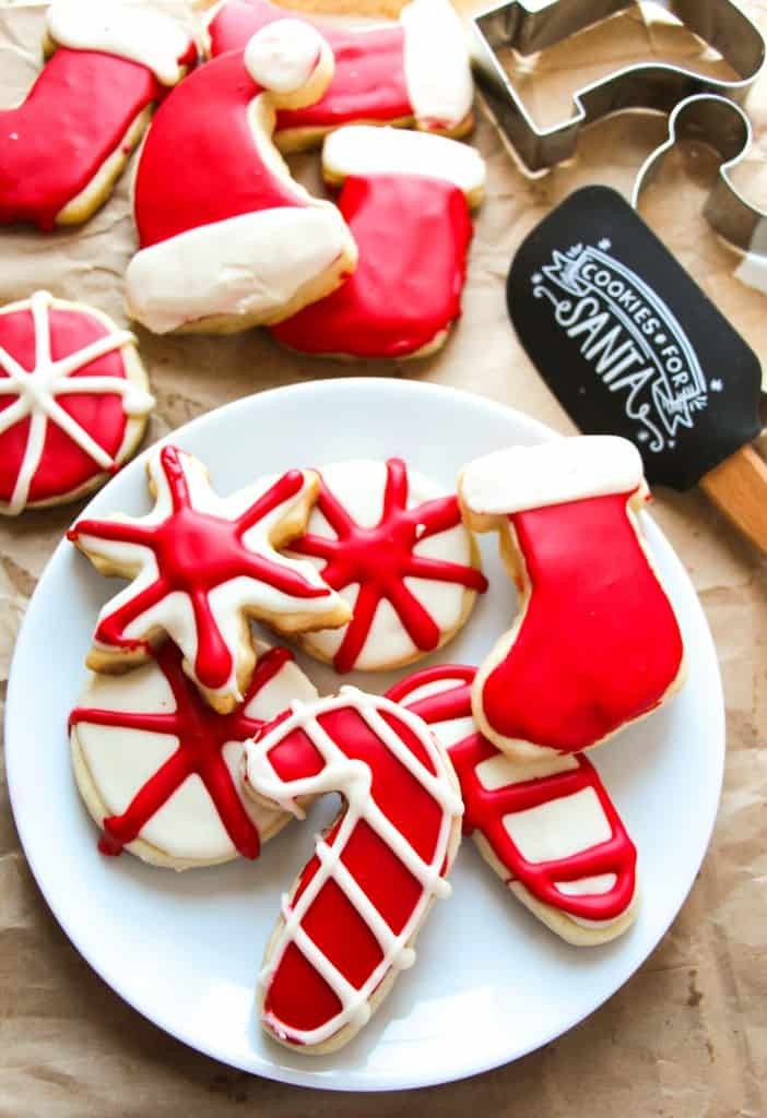 sugar cookies - How To Decorate Christmas Cookies With Royal Icing