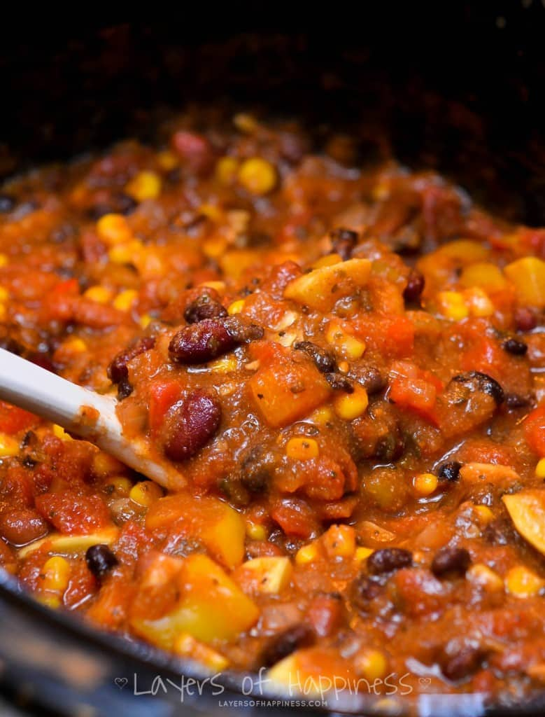 VEGGIE CHILI 7