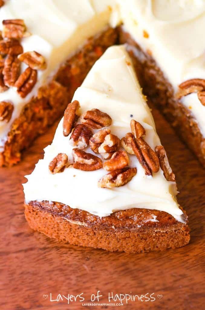 Grandma's Extra Moist Carrot Cake