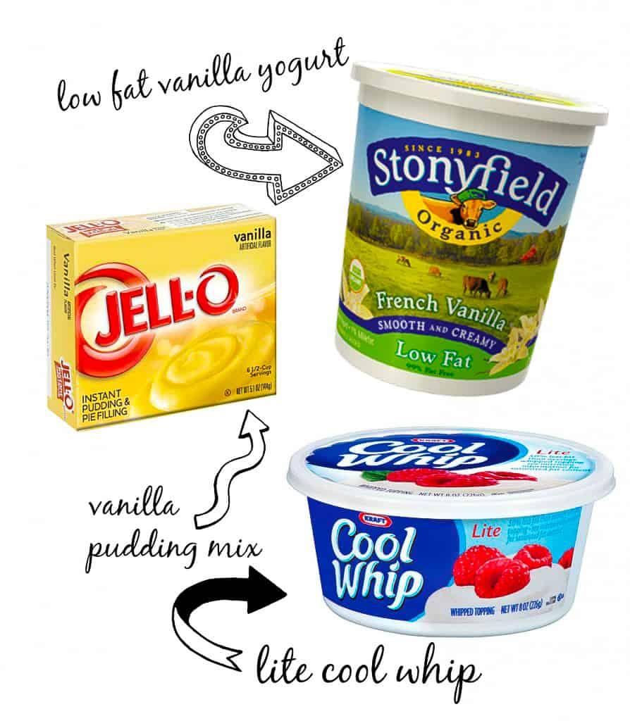 Best Fruit Dip Ingredients
