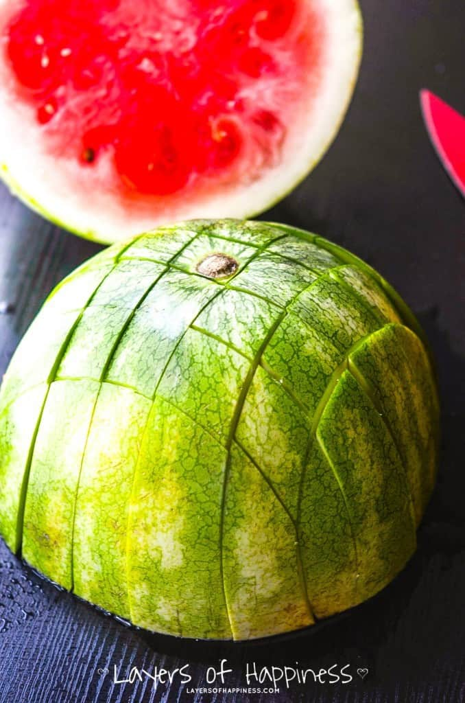 How to Cut Watermelon Strips