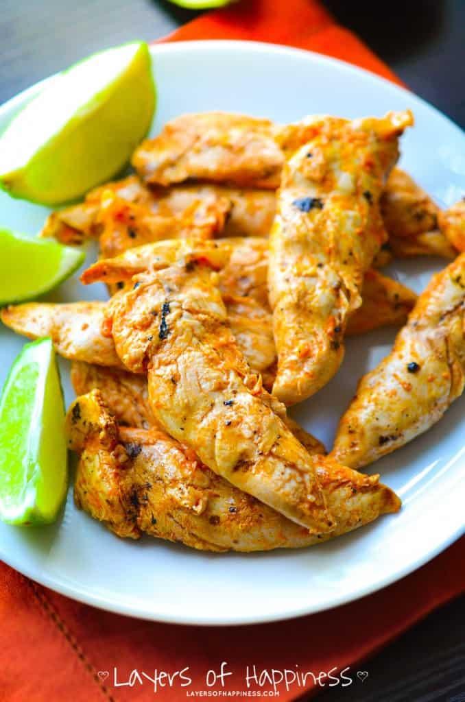 Spicy Buffalo Lime Chicken Marinade