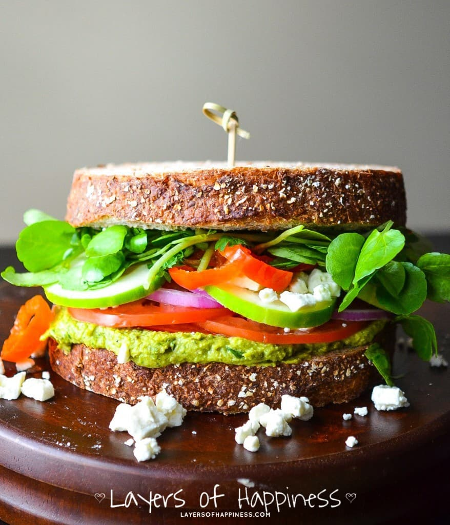 My favorite Vegetarian sandwich-2