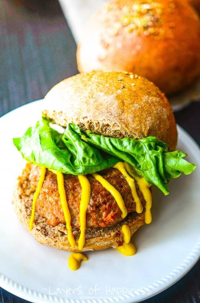 Tuscan Herb Hamburgers