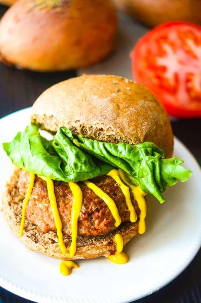 Tuscan Herb burgers