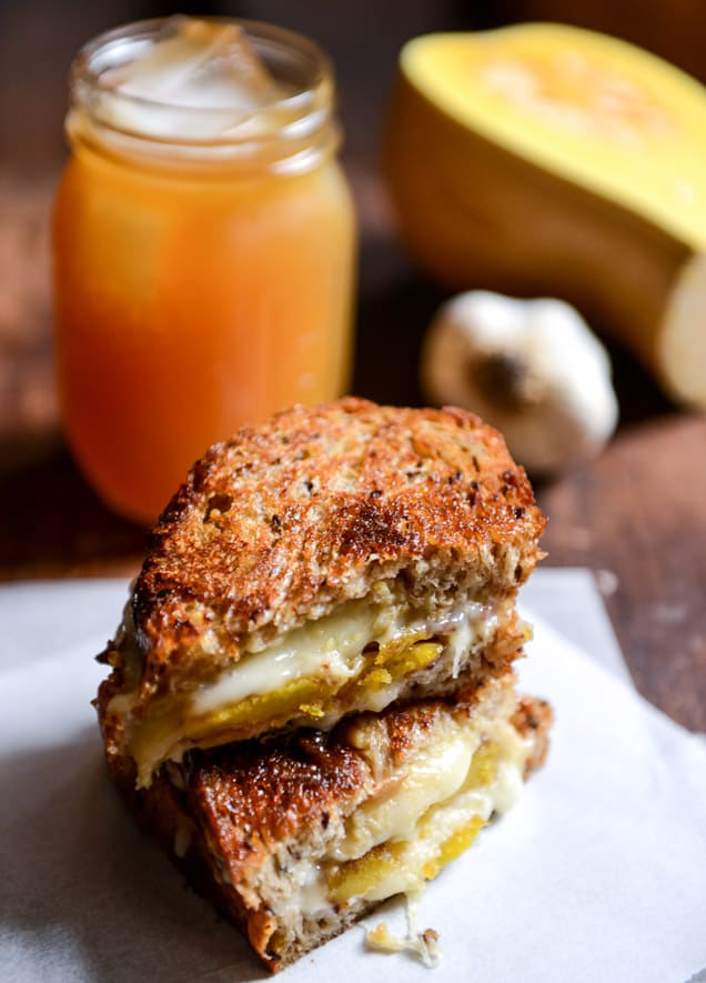 Caramelized-Butternut-Squash-Roasted-Garlic-+-Coconut-Butter-Grilled-Cheese-I-howsweeteats.com-2
