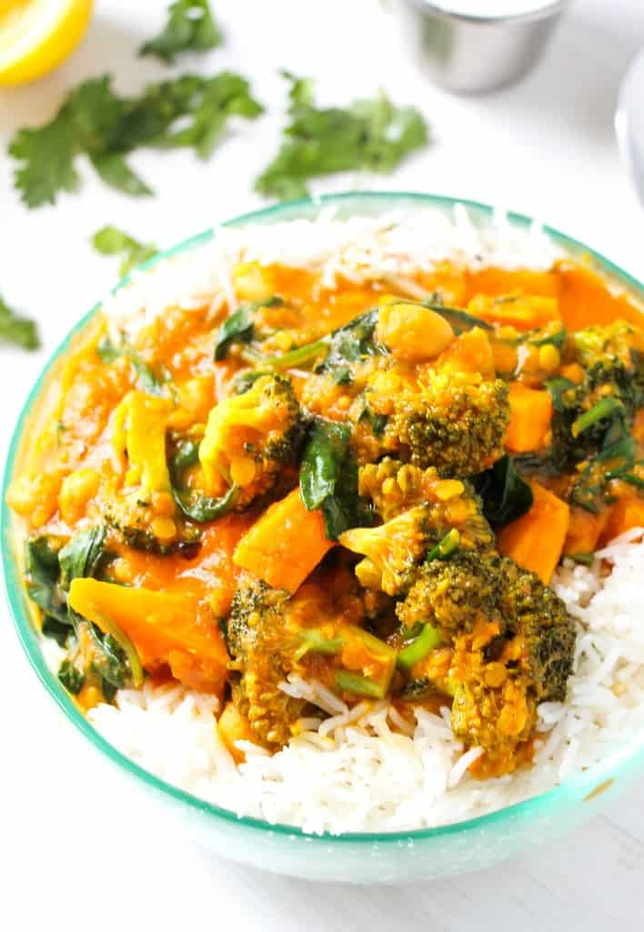 The Best Vegetable Curry Ever